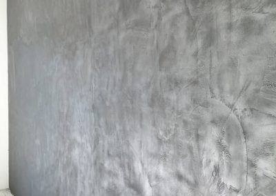 Mur métalisé