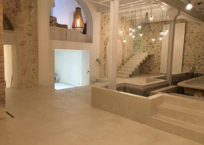 Beton Cire Interieur : Salle de bains en beton cire a annecy creation de salle de bains