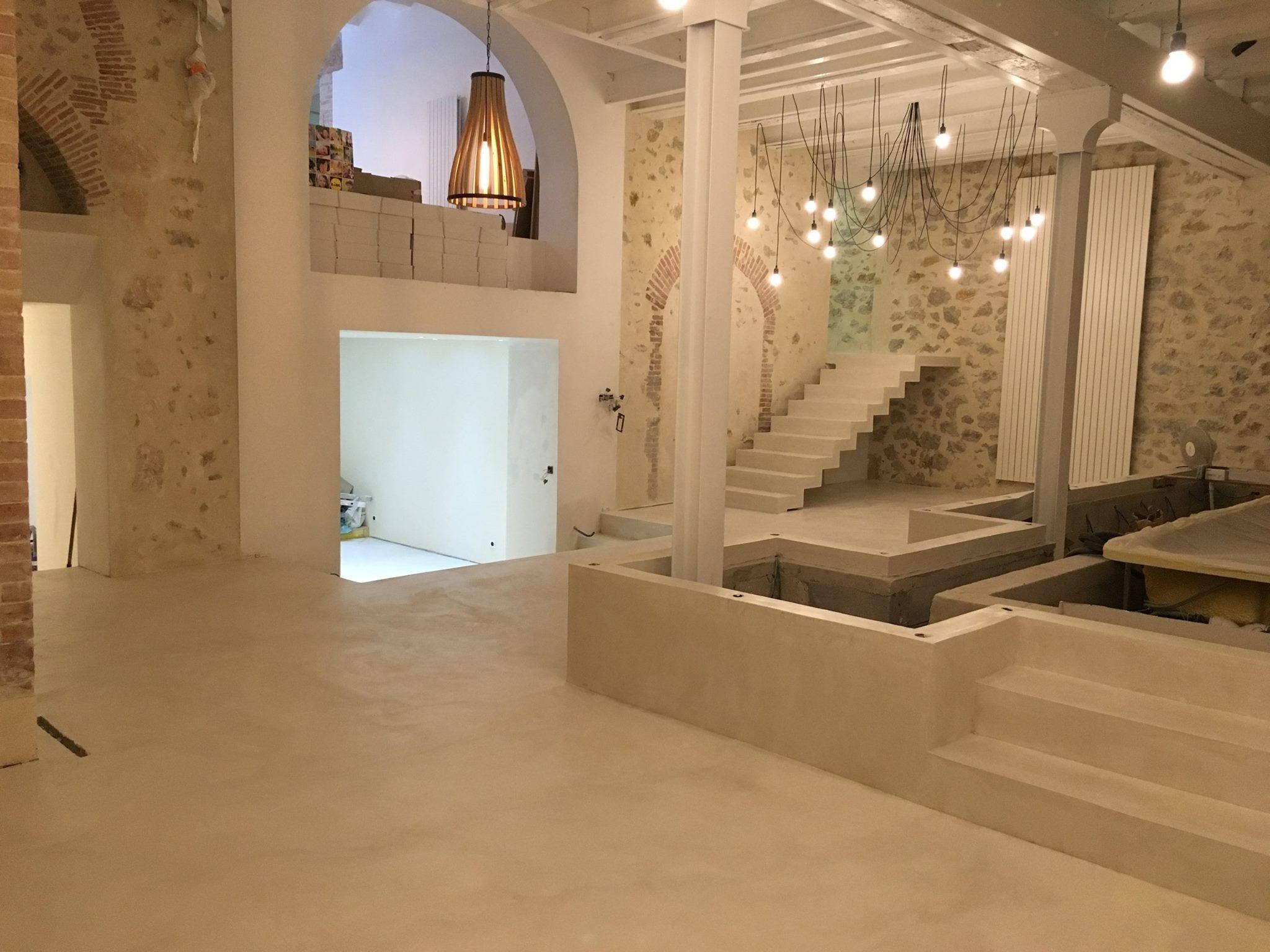 Beton Ciré Salle De Bain salle de bains en beton cire a annecy | creation de salle de
